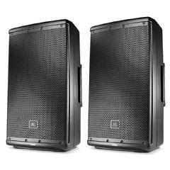 2 x JBL EON612 2000W Powered 12